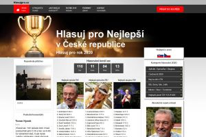 Hlasovací portál - www.hlasujpro.cz